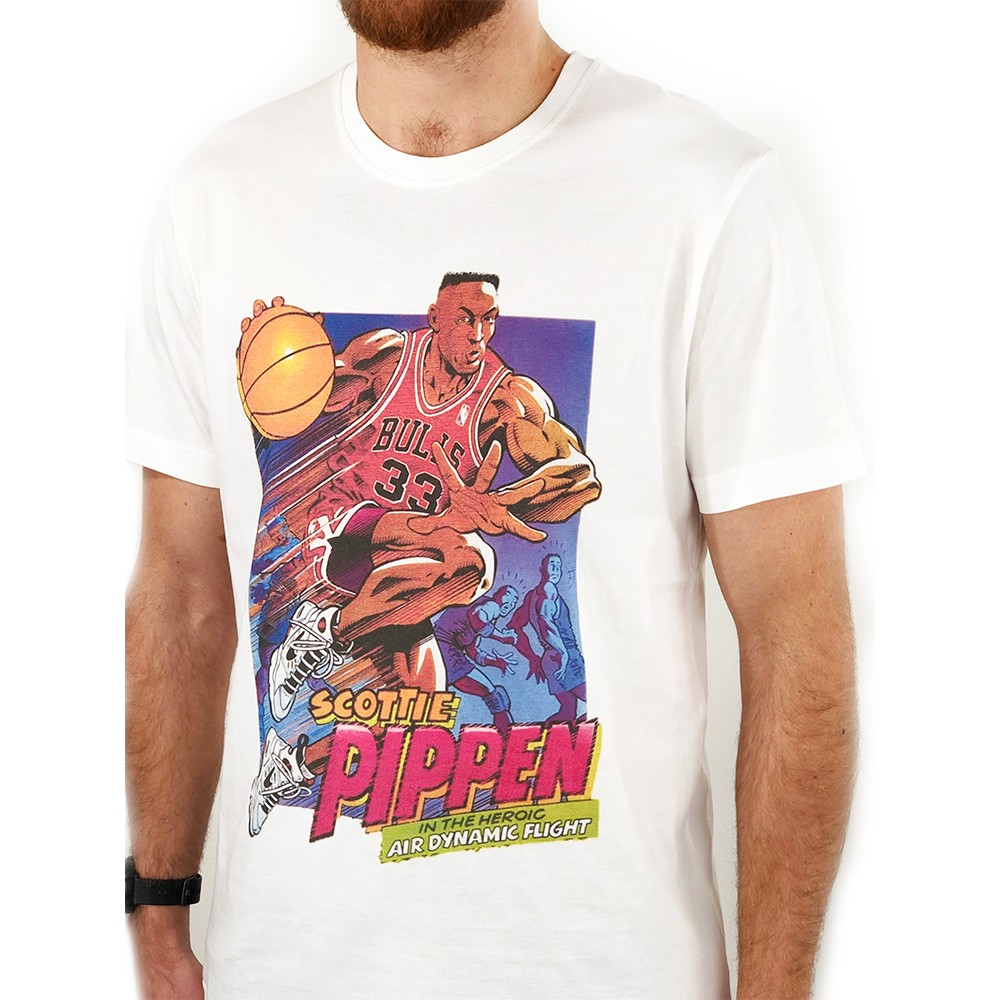 PIPPEN HERO WHITE TEE