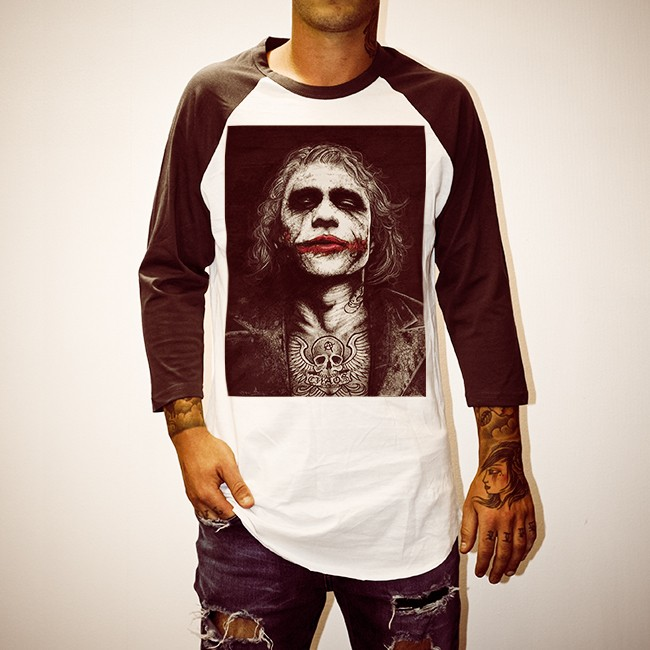 WAYNES HEATH LEDGER RAGLAN