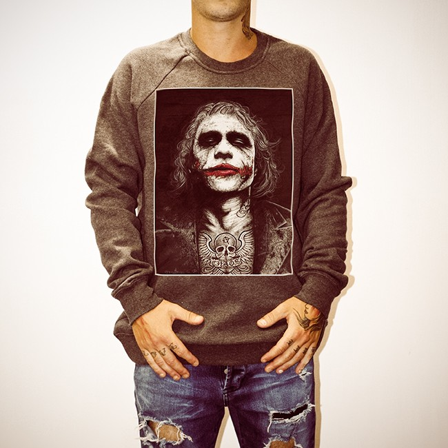 WAYNES HEATH LEDGER DARK CREW