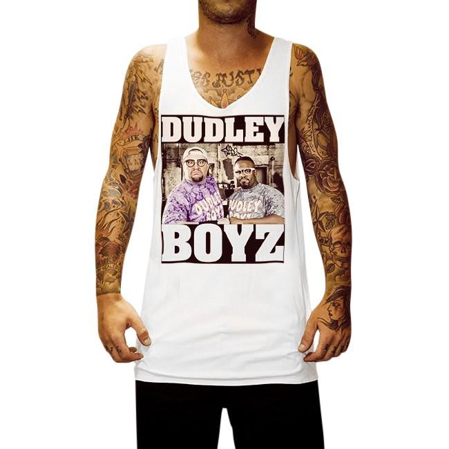 DUDLEY BOYZ WHITE SINGLET