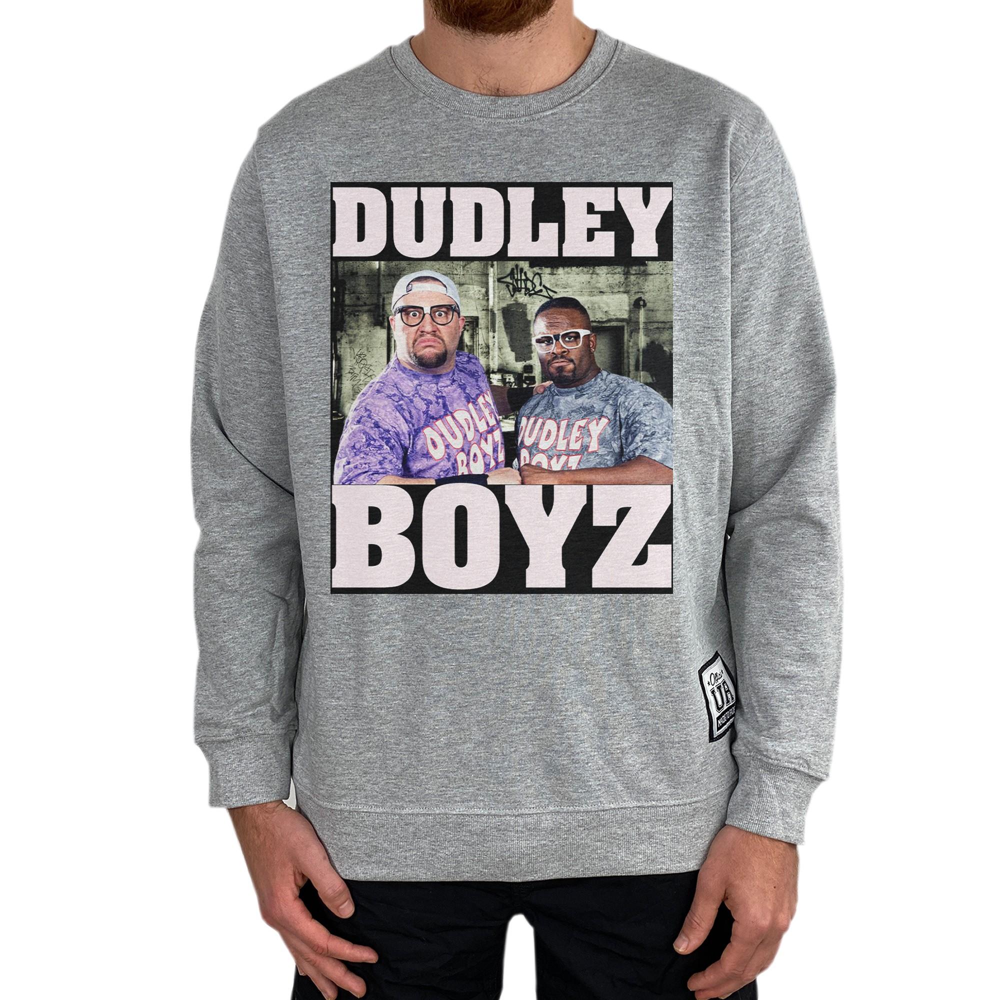 DUDLEY BOYZ MARBLE GREY CREW