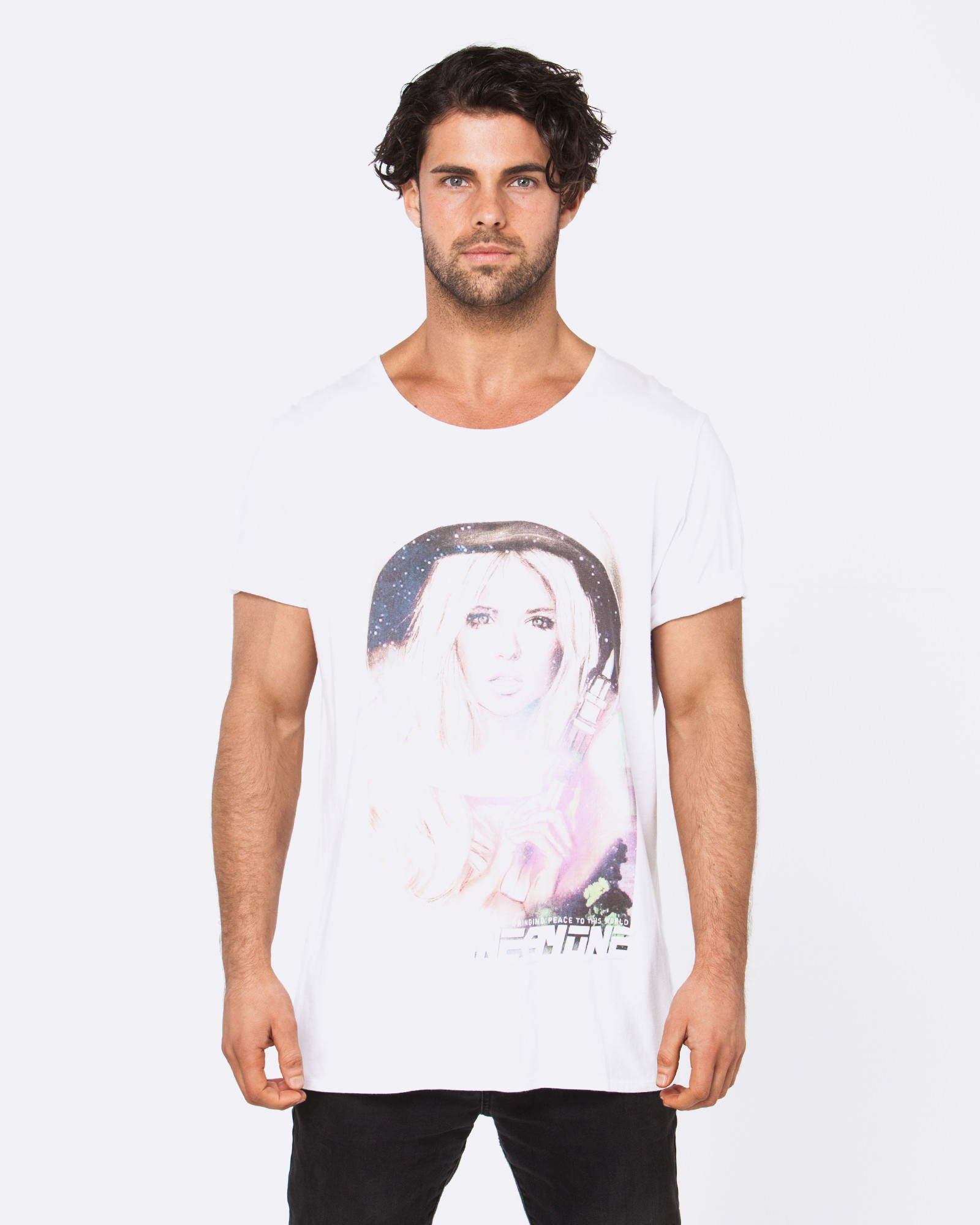 2050 SPACE ANGEL WHITE TEE