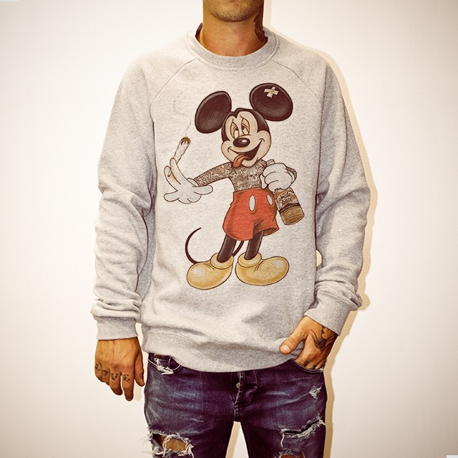 MICKEY HIGH MARBLE CREW