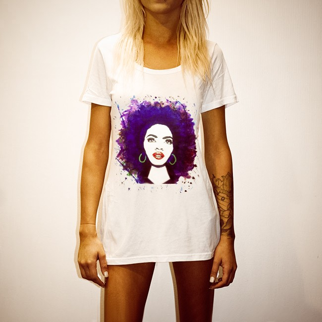 MISEDUCATION WOMENS WHITE T-SHIRT
