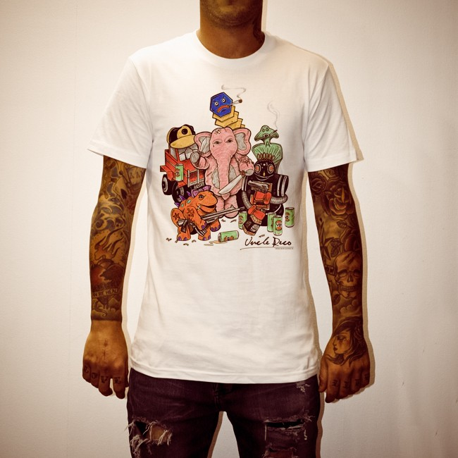 THUG JOHNSON WHITE T-SHIRT