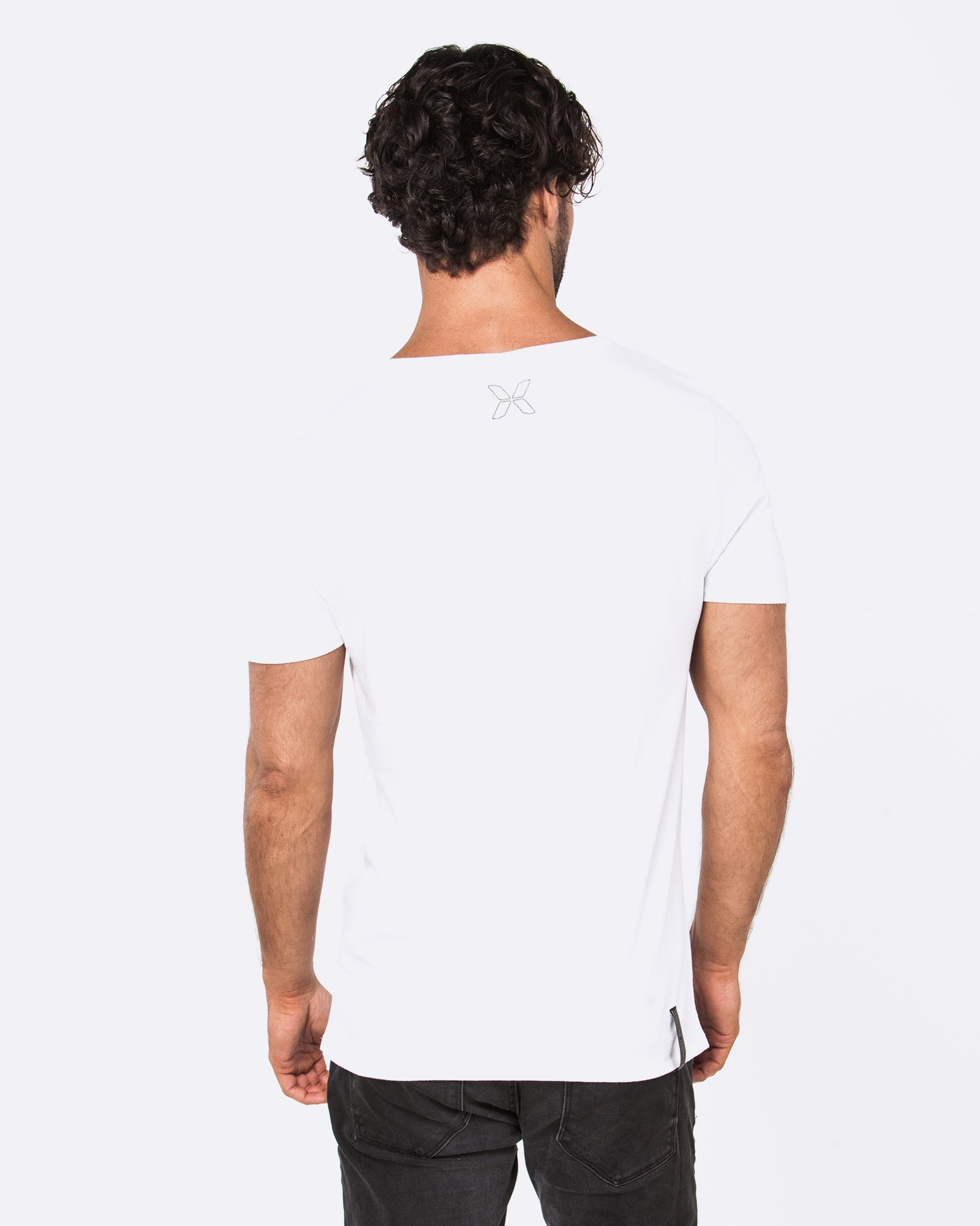 SUCCEED WHITE TEE