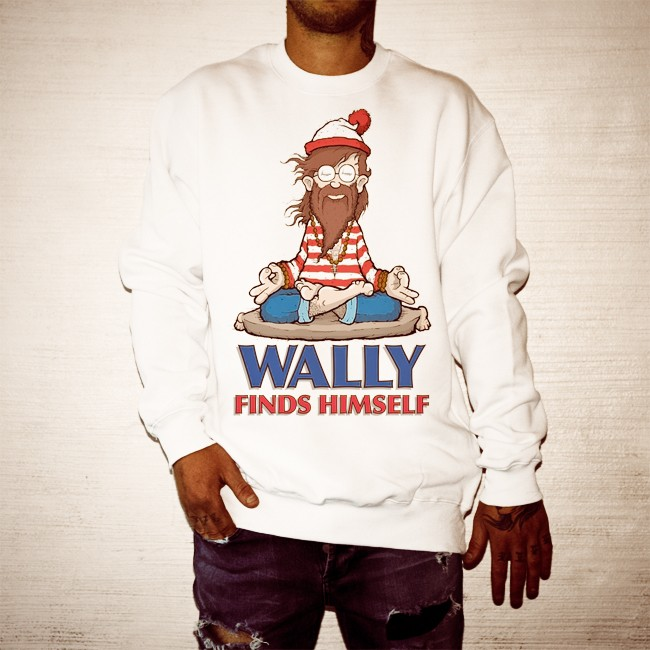 WALLY FOUND WHITE CREW