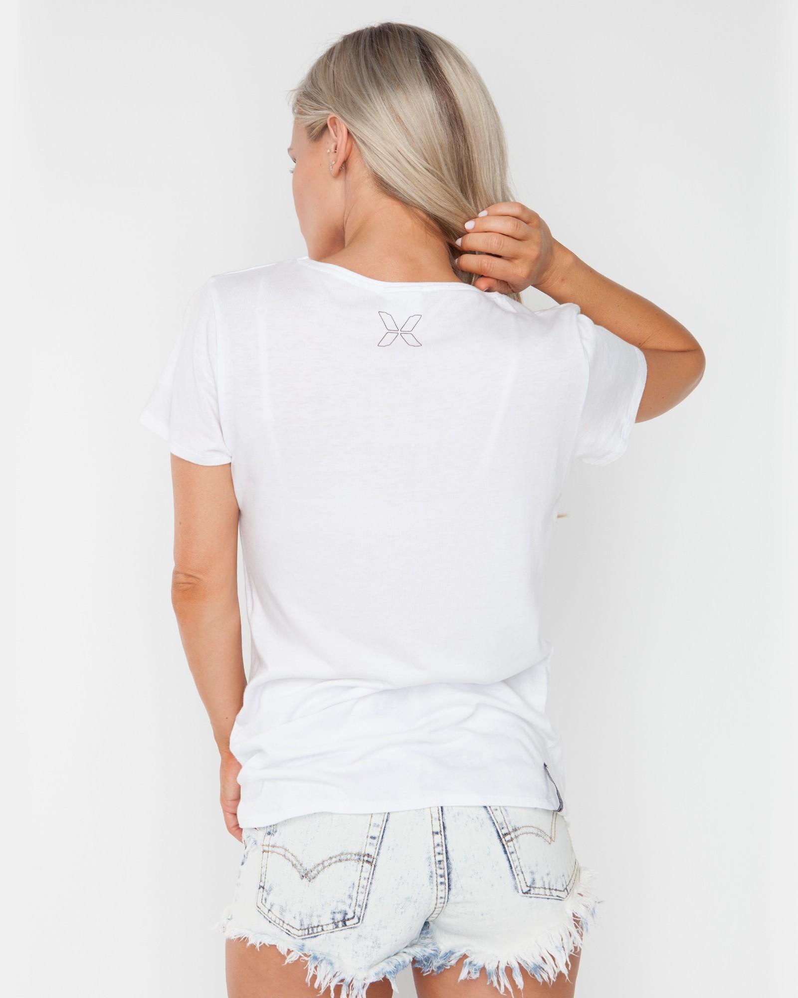 WHITE BLANK TEE