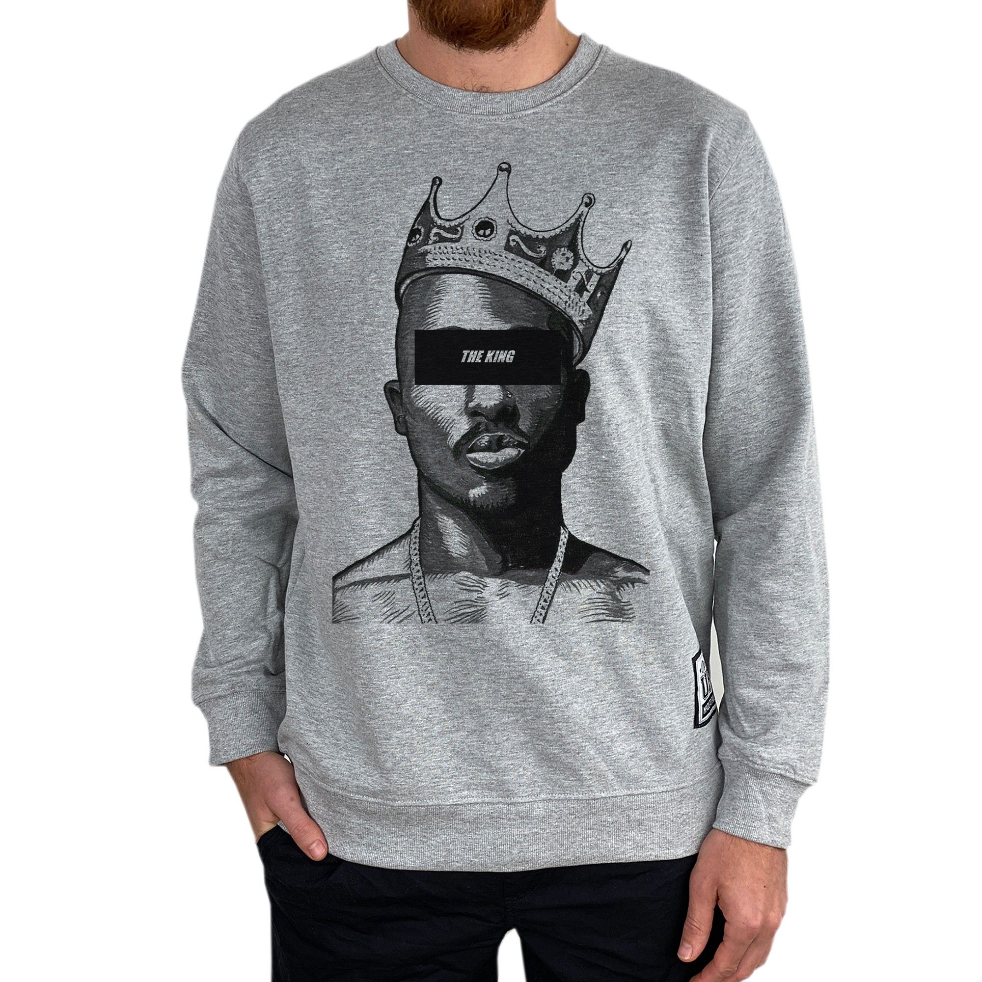 THE KING MARBLE GREY CREW