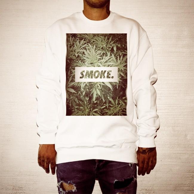 SMOKE. WHITE CREW