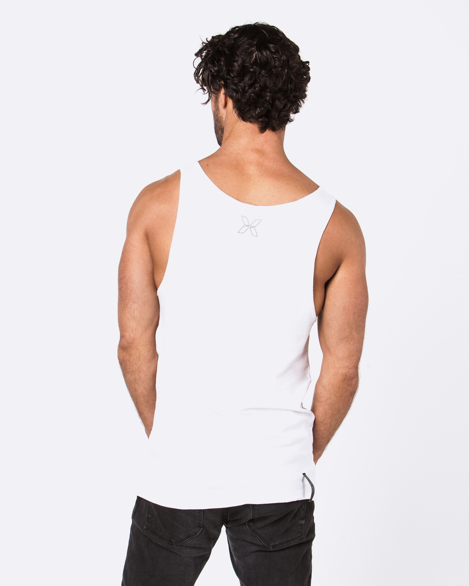 ARE YOU FEELING LUCKY WHITE SINGLET