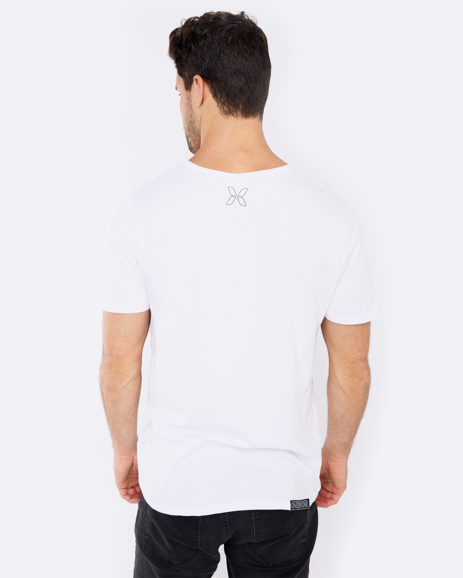 FIND ME IN THE WOODS WHITE TEE