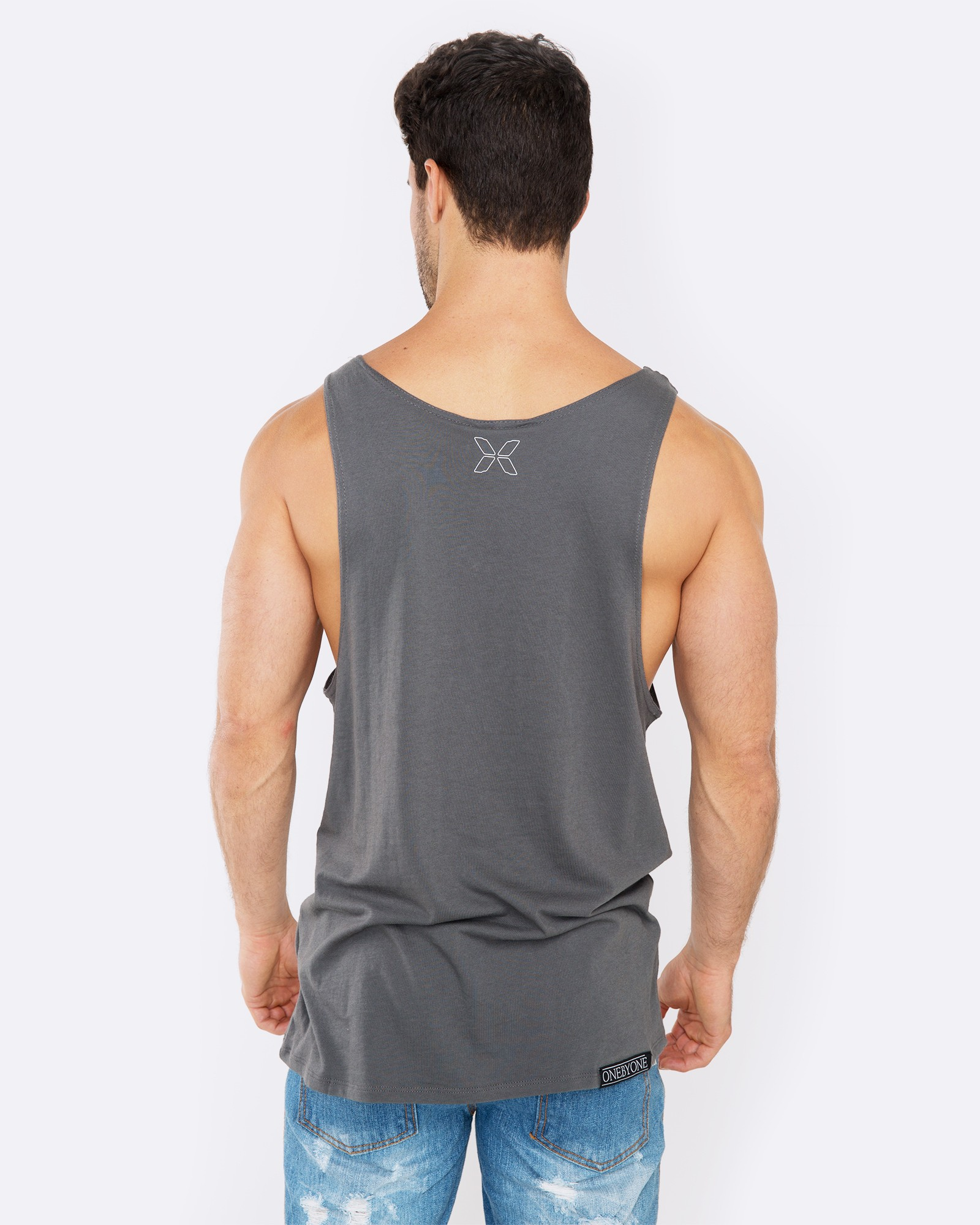 ANTIDOTE GREY SINGLET