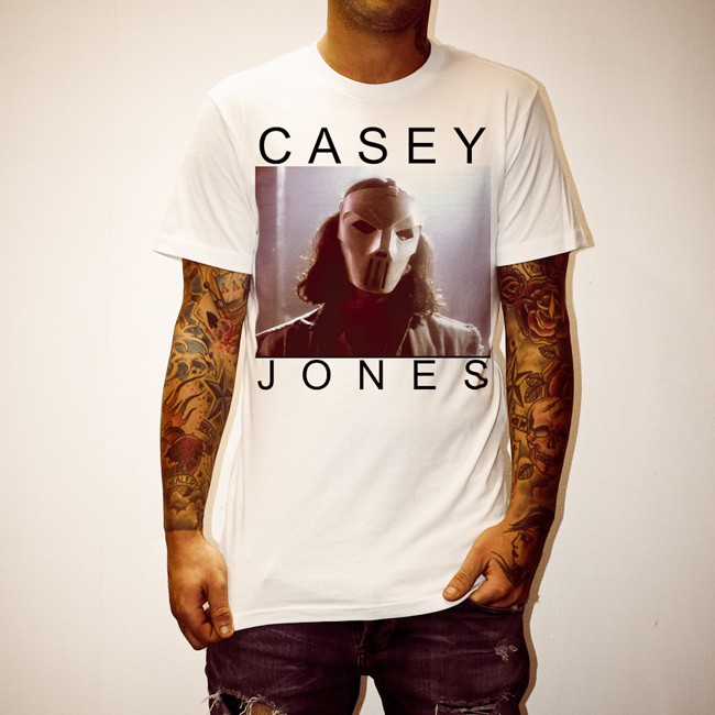 CASEY JONES WHITE TEE