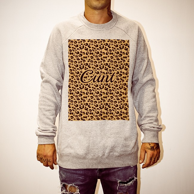 LEOPARD CUNT MARBLE CREW