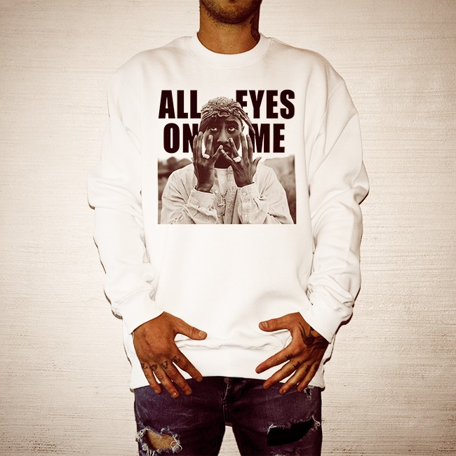 ALL EYES ON ME WHITE CREW