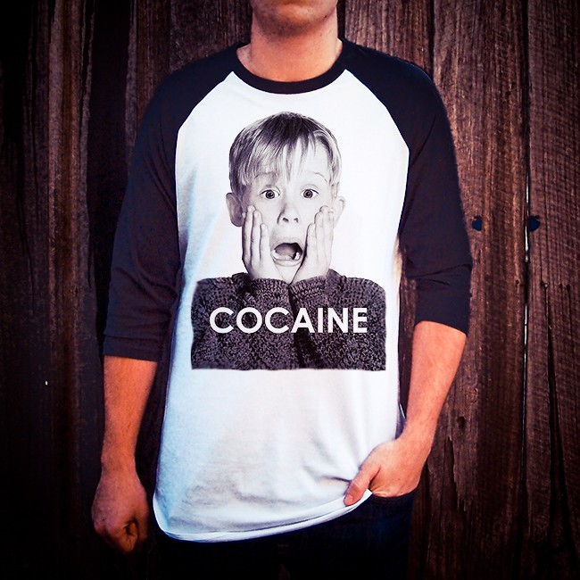 COKE ALONE RAGLAN