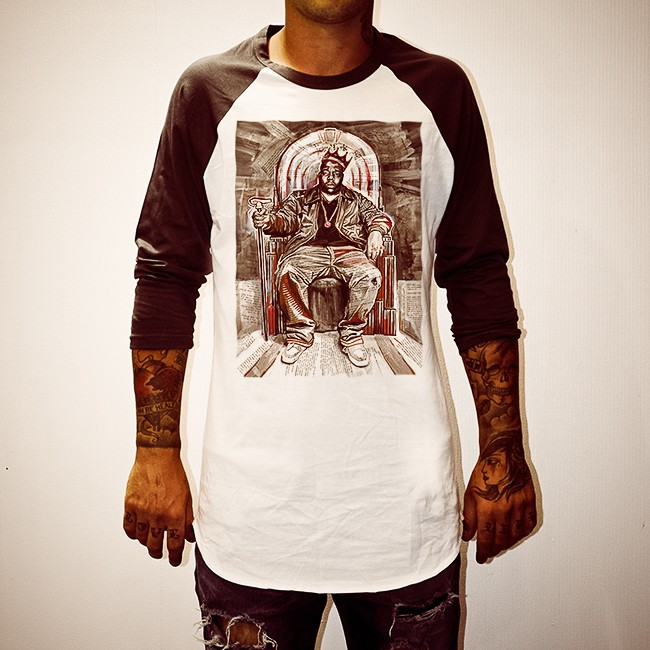 BIGGIE LEGEND RAGLAN