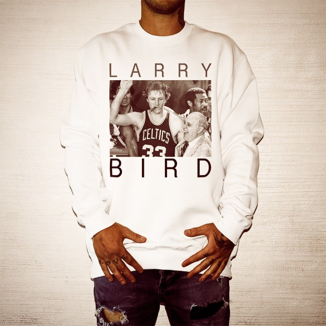 LARRY BIRD WHITE CREW