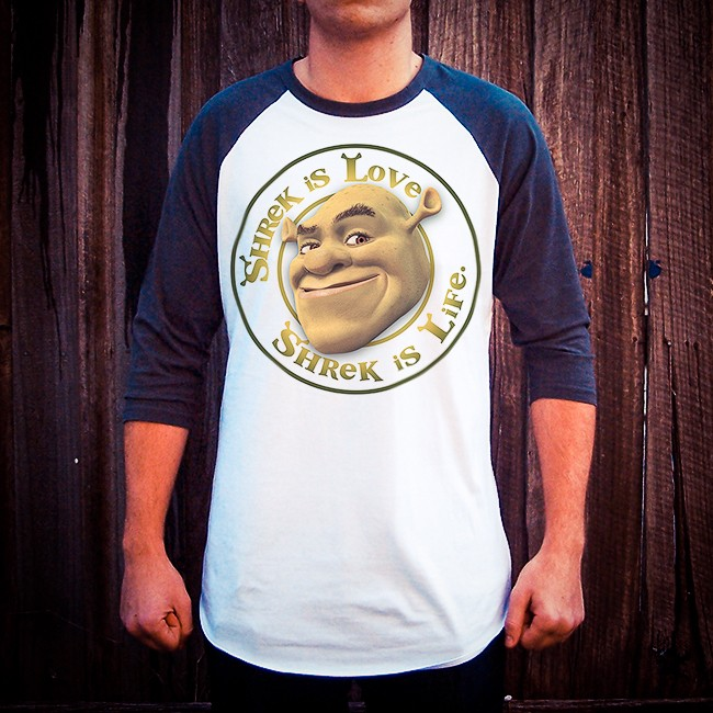 SHREK IS LOVE RAGLAN