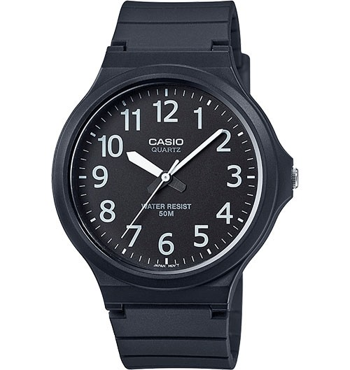 ANALOGUE RUBBER STRAP WATCH
