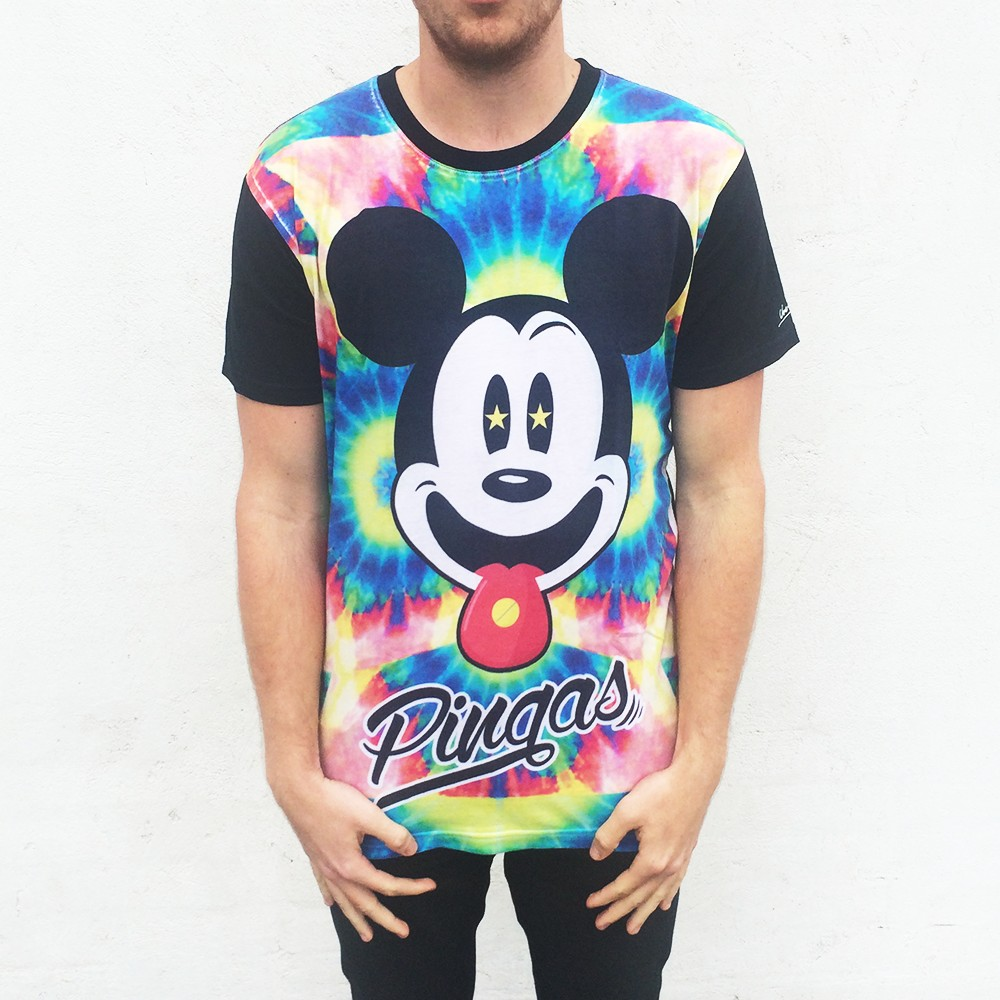 FULL PRINT MICKEY PINGAS TEE WEEKEND