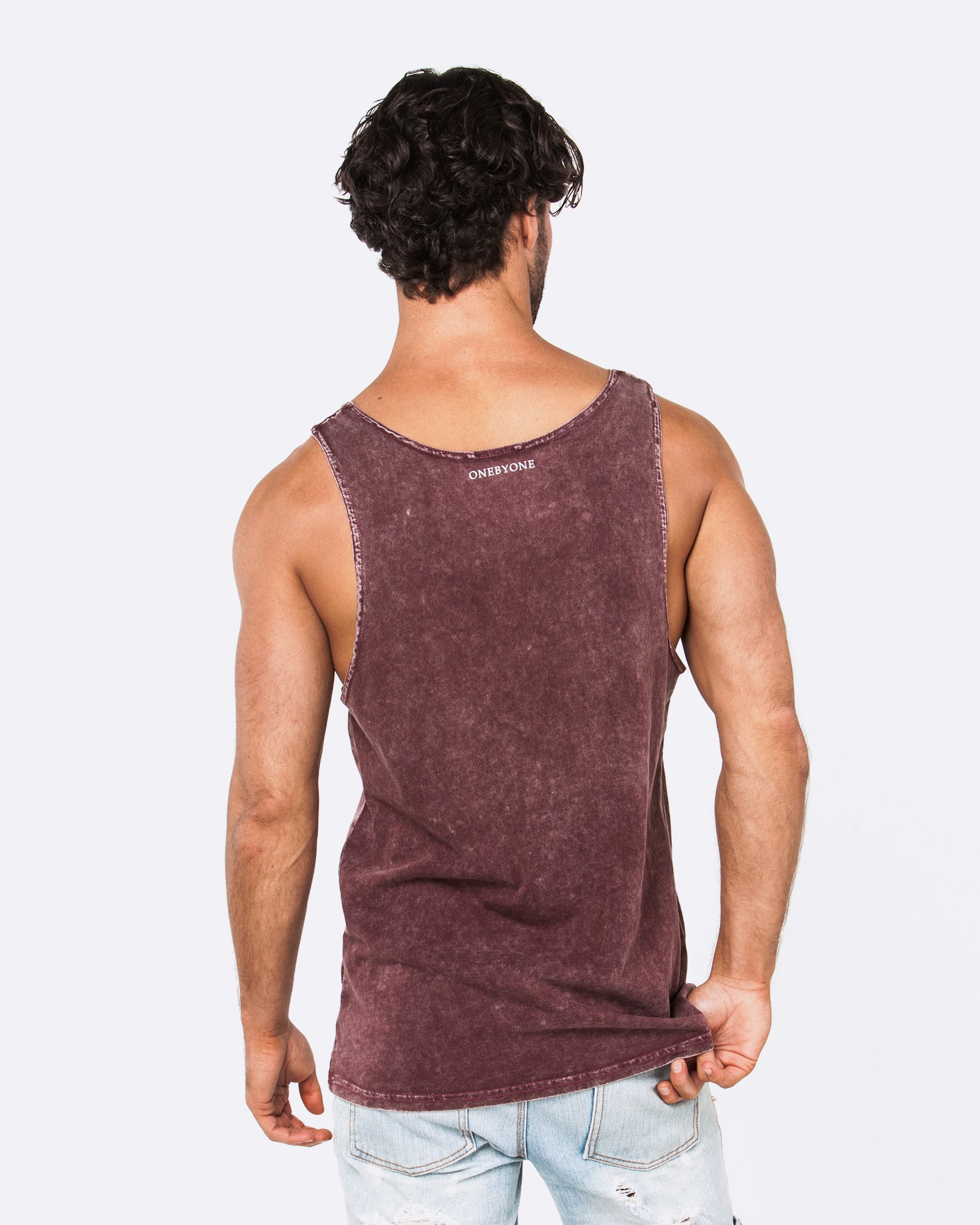 BLANK ACID BERRY SINGLET