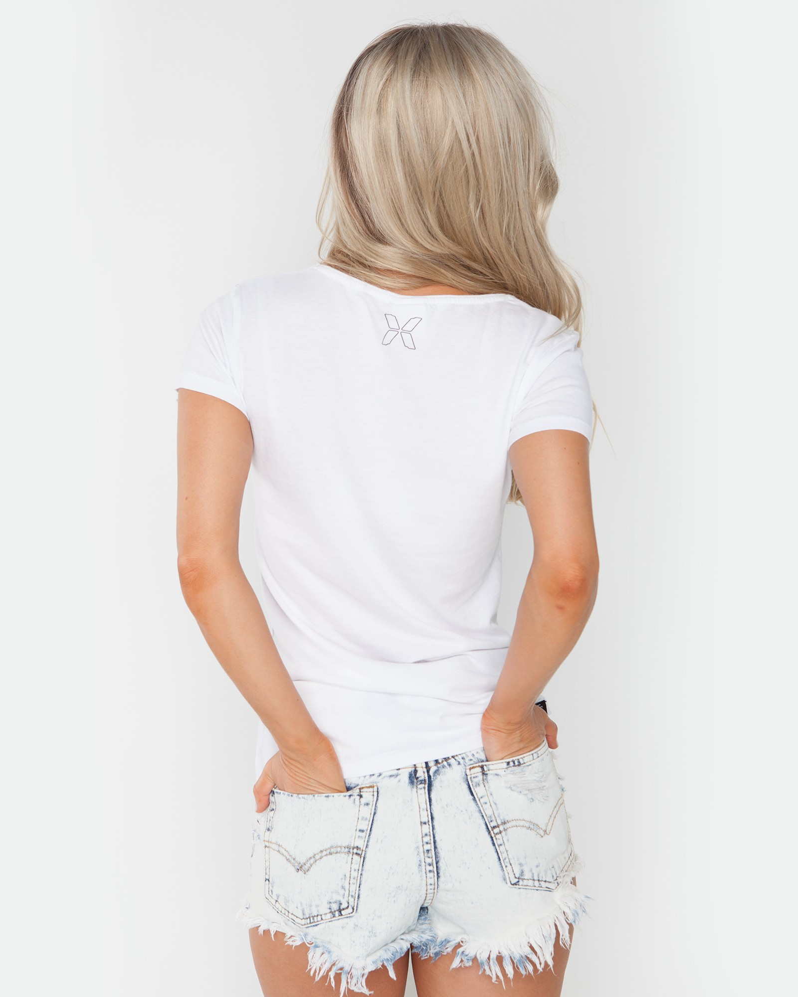 GONE HOME WHITE TEE