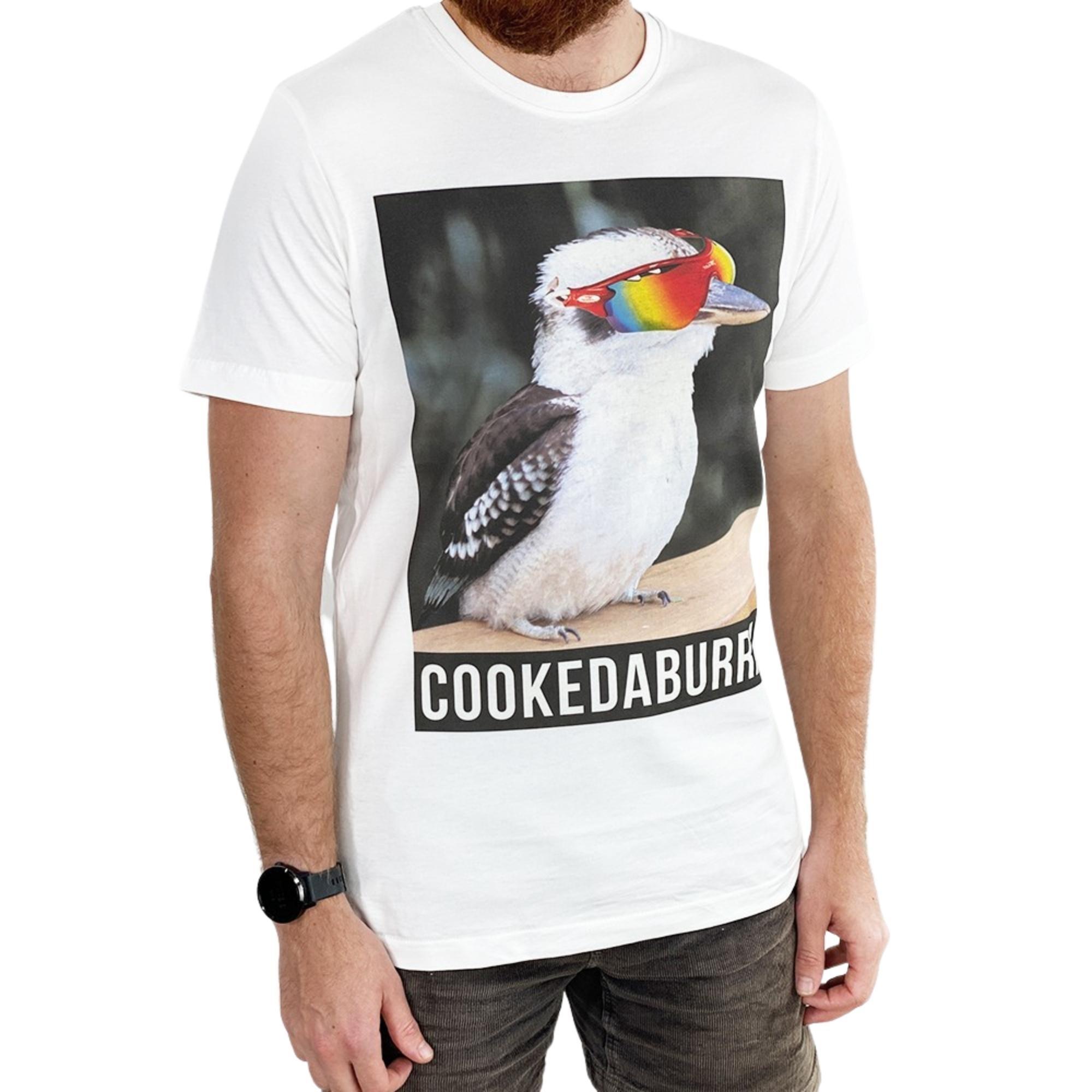 COOKEDABURRA WHITE TEE
