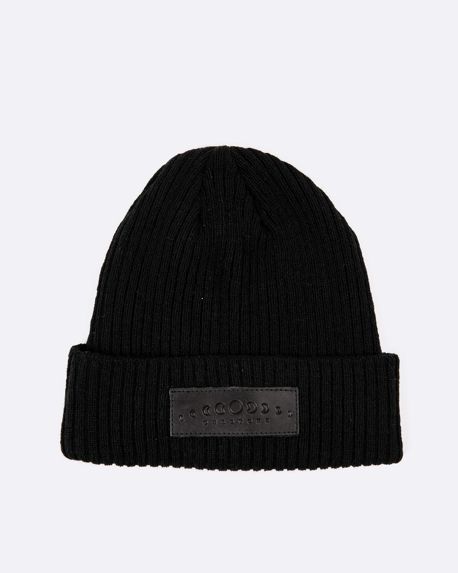 NEW MOON BLACK BEANIE