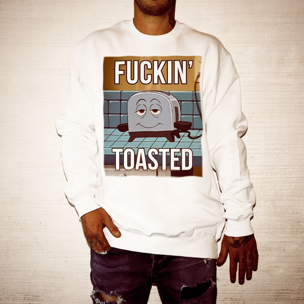 TOASTED WHITE CREW