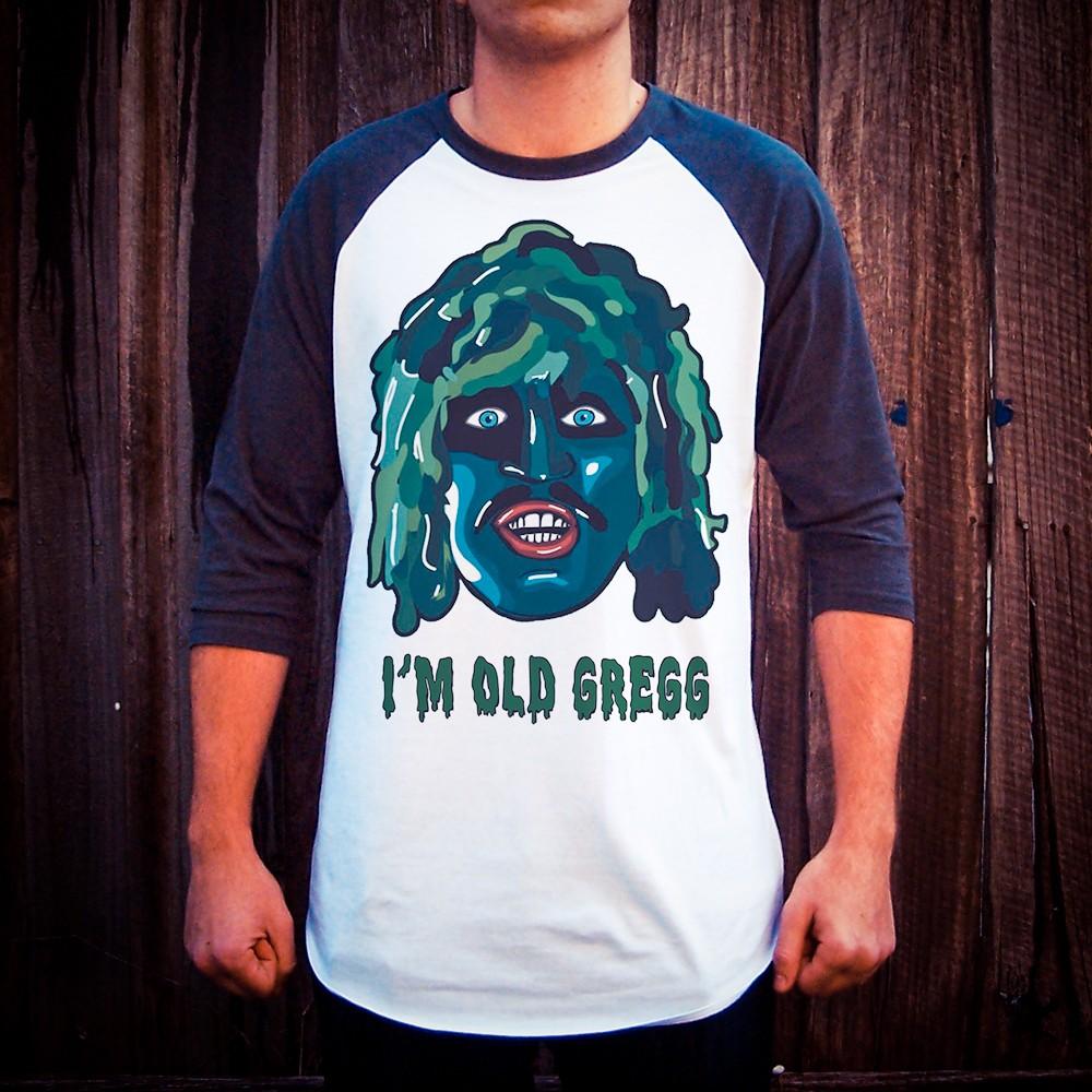 OLD GREGG RAGLAN