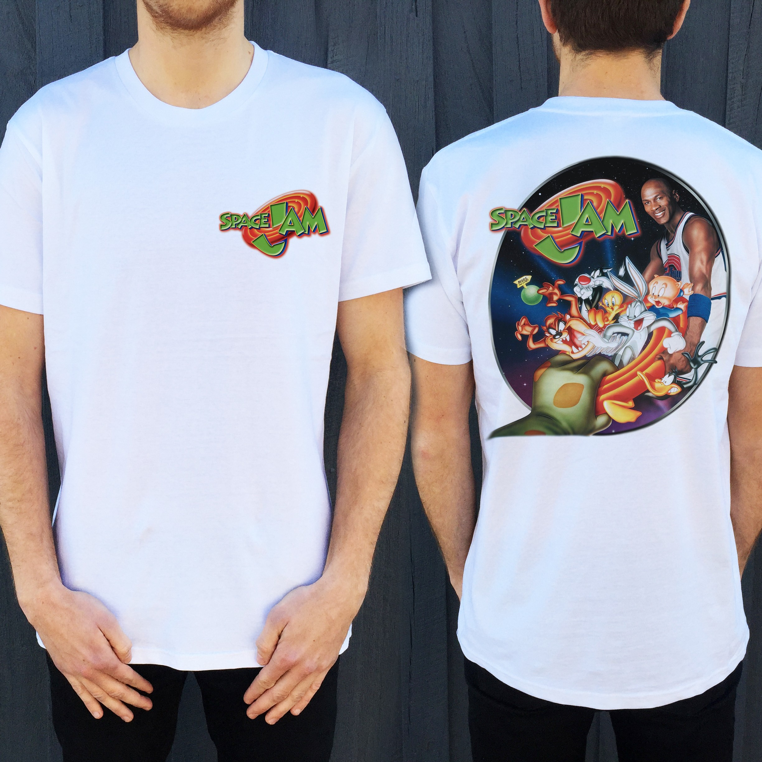 JAM FRONT AND BACK TEE