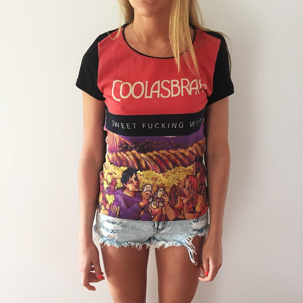 FULL PRINT COOLASBRAH WOMENS TEE