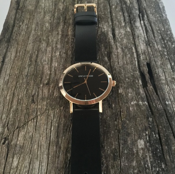 RECO WATCH GOLD/BLACK