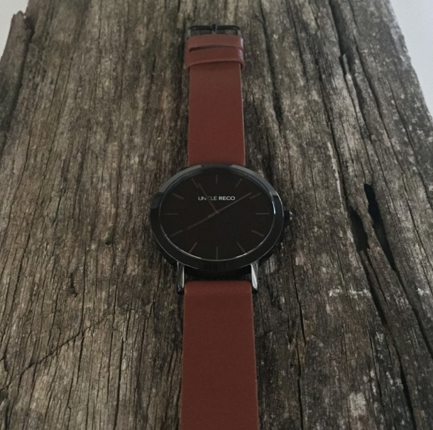 RECO WATCH BLACK/TAN
