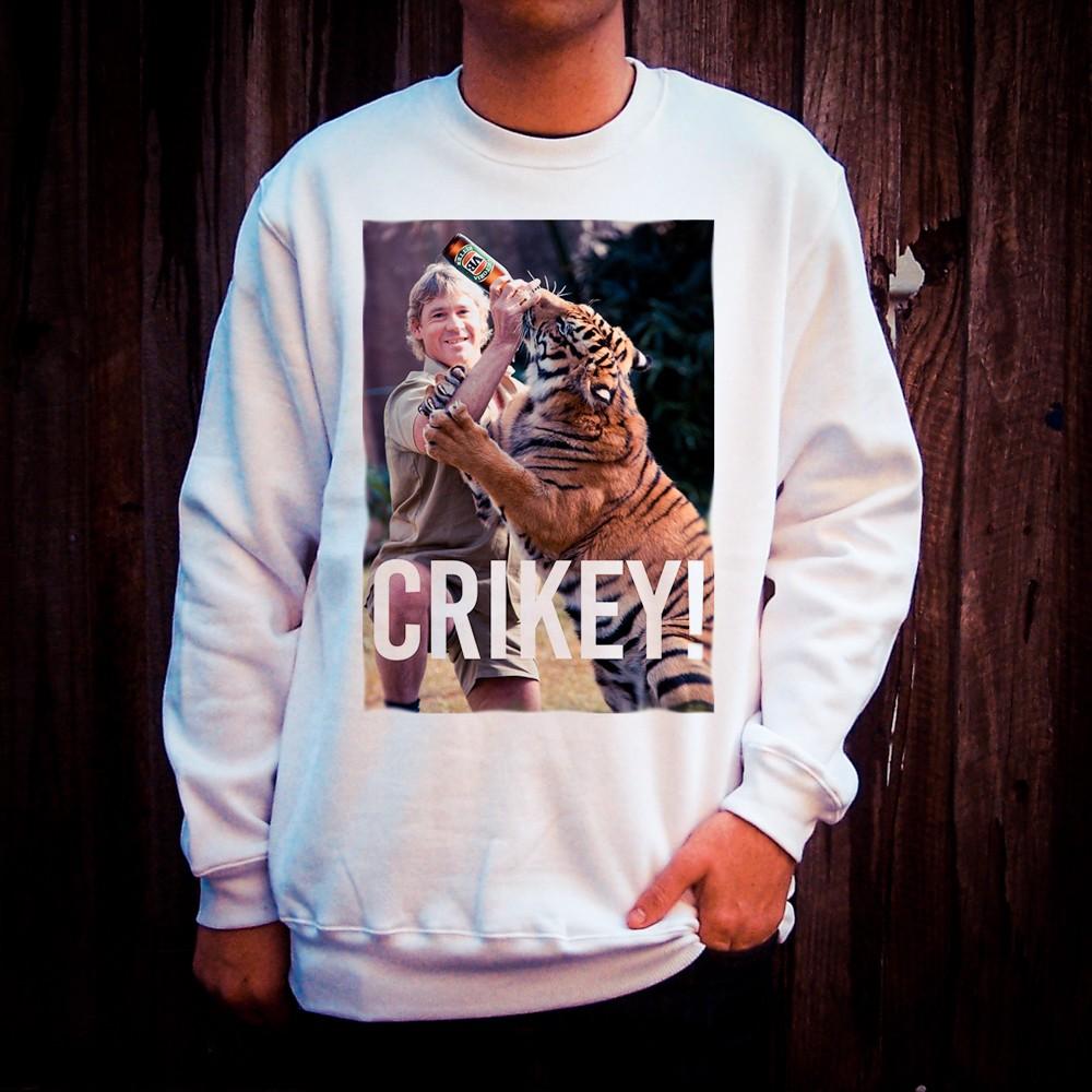 CRIKEY WHITE CREW