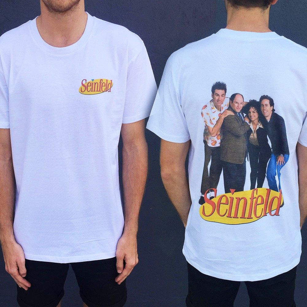 THE GANG SF FRONT AND BACK TEE