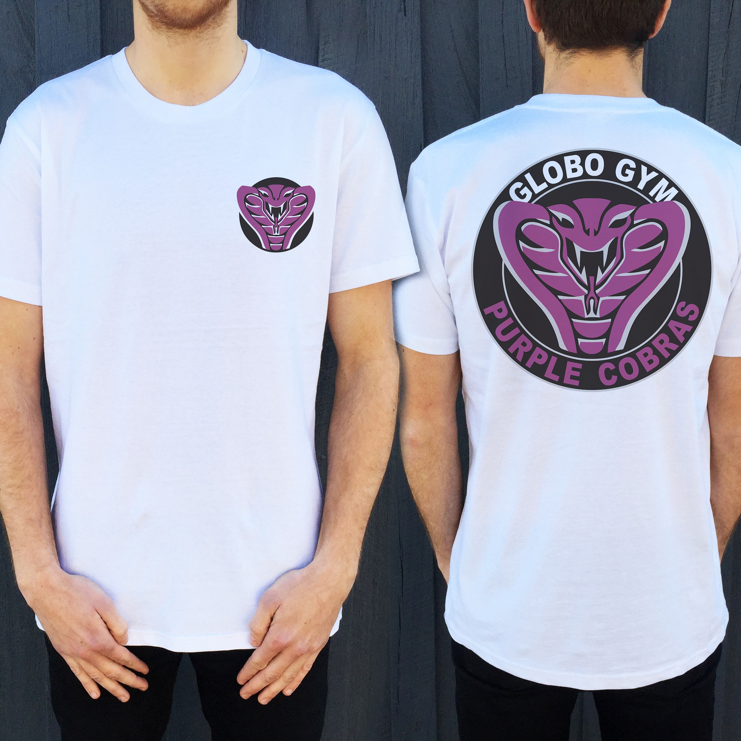 GLOBO GYM DB FRONT AND BACK TEE