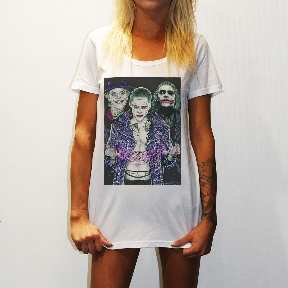 WOMENS THE UNHOLY TRINITY WHITE TEE