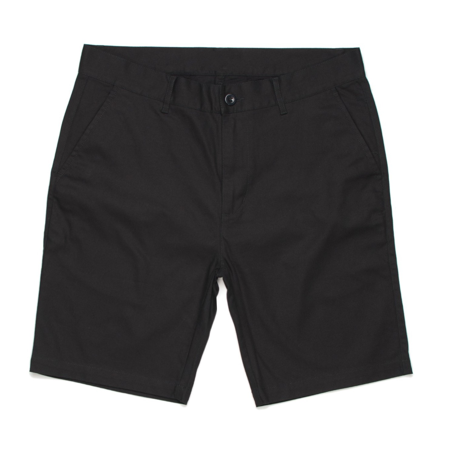 BLACK RECO CHINO SHORTS