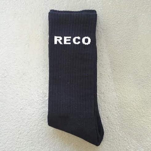 BLACK RECO SOCKS
