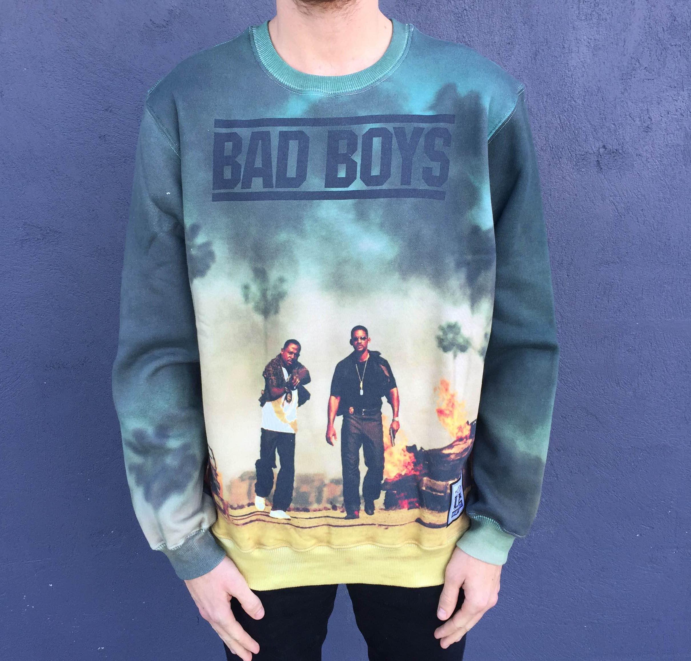 FULL PRINT BAD BOYS CREW