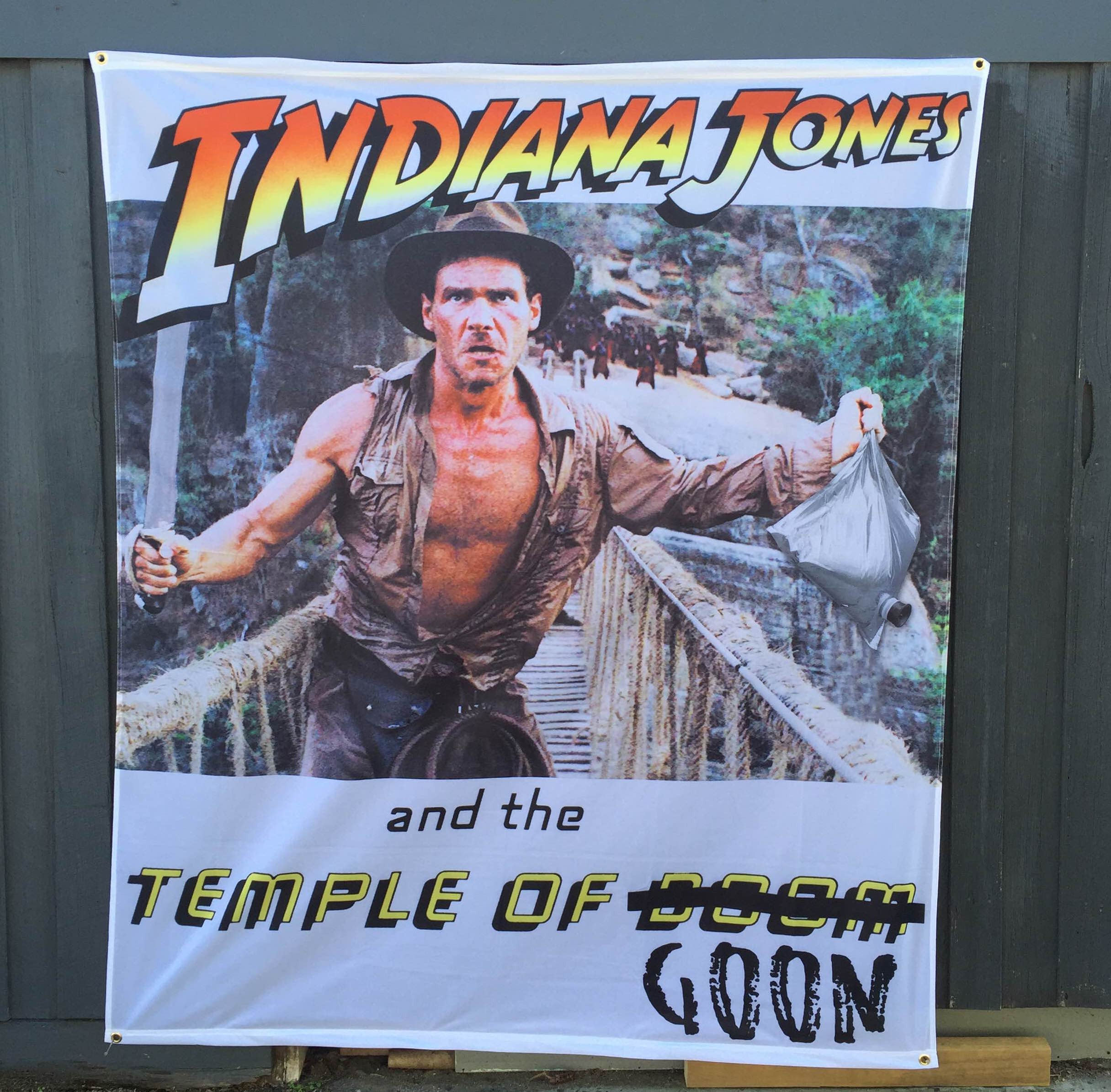 TEMPLE OF GOON WALL HANGING