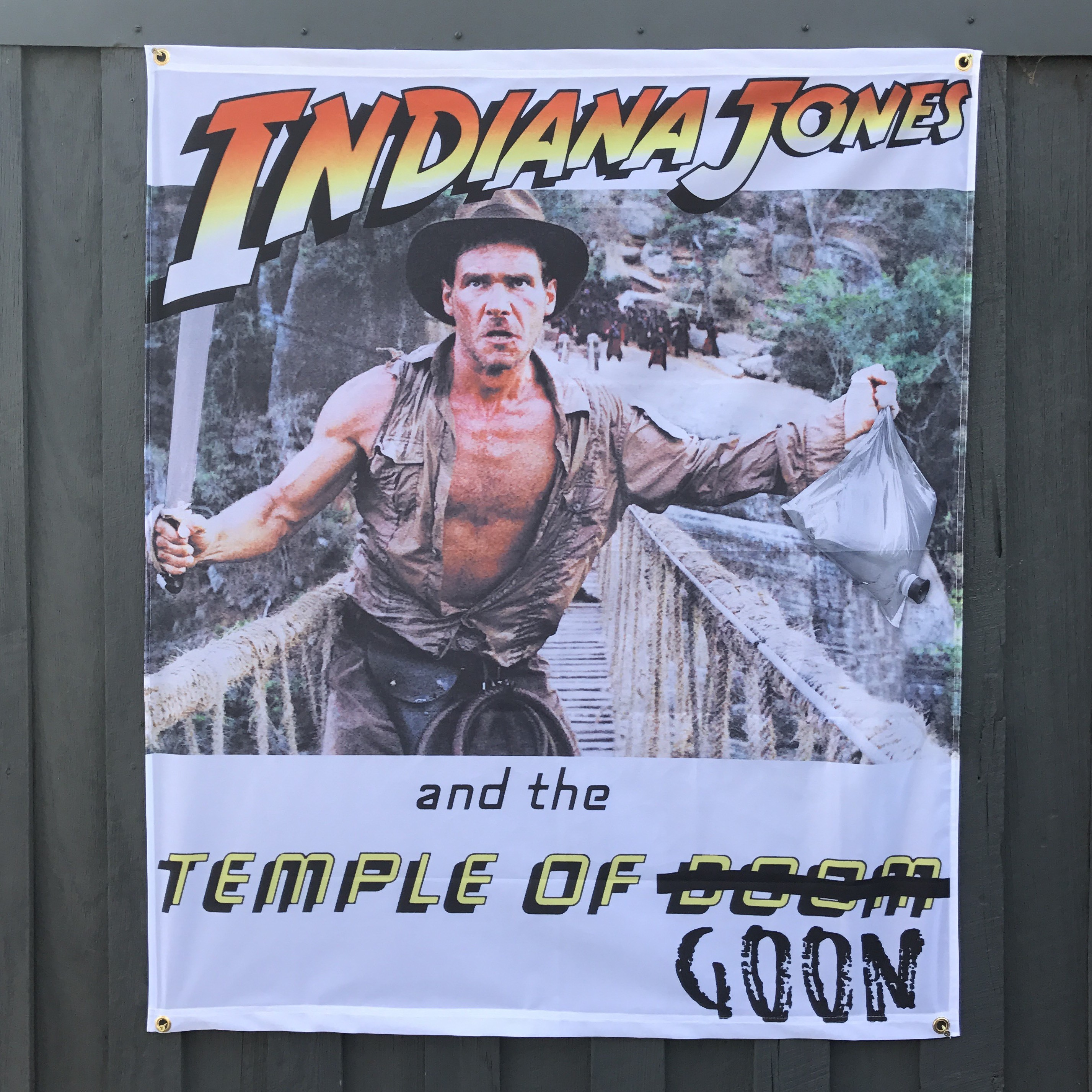 TEMPLE OF GOON WALL HANGING 1000 x 1200MM