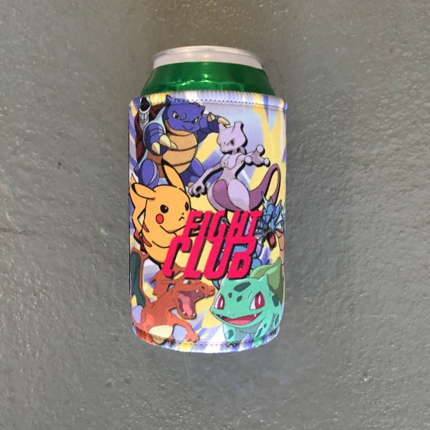 POKEMON FIGHT CLUB STUBBY HOLDER