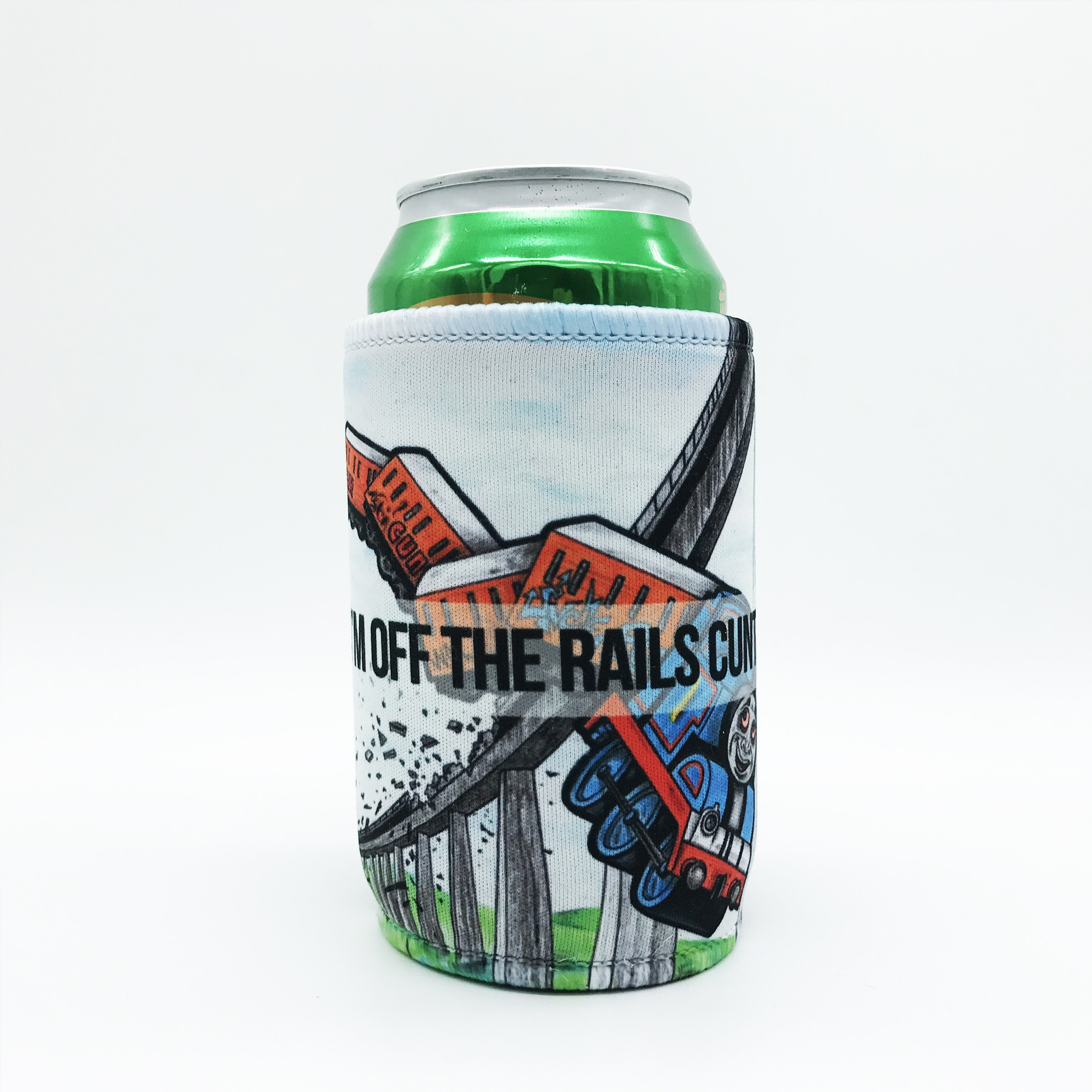 OFF THE RAILS STUBBY HOLDER