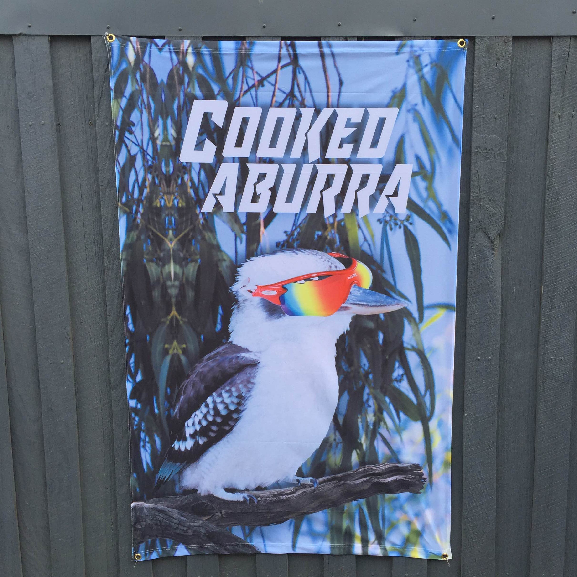 COOKEDABURRA PRINT WALL HANGING 950 X 1500MM