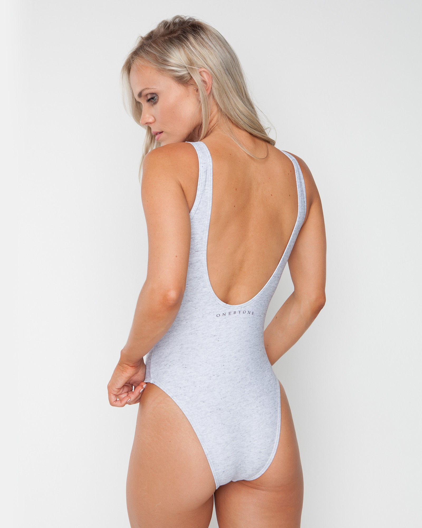 OXO MARBLE GREY SWIMSUIT