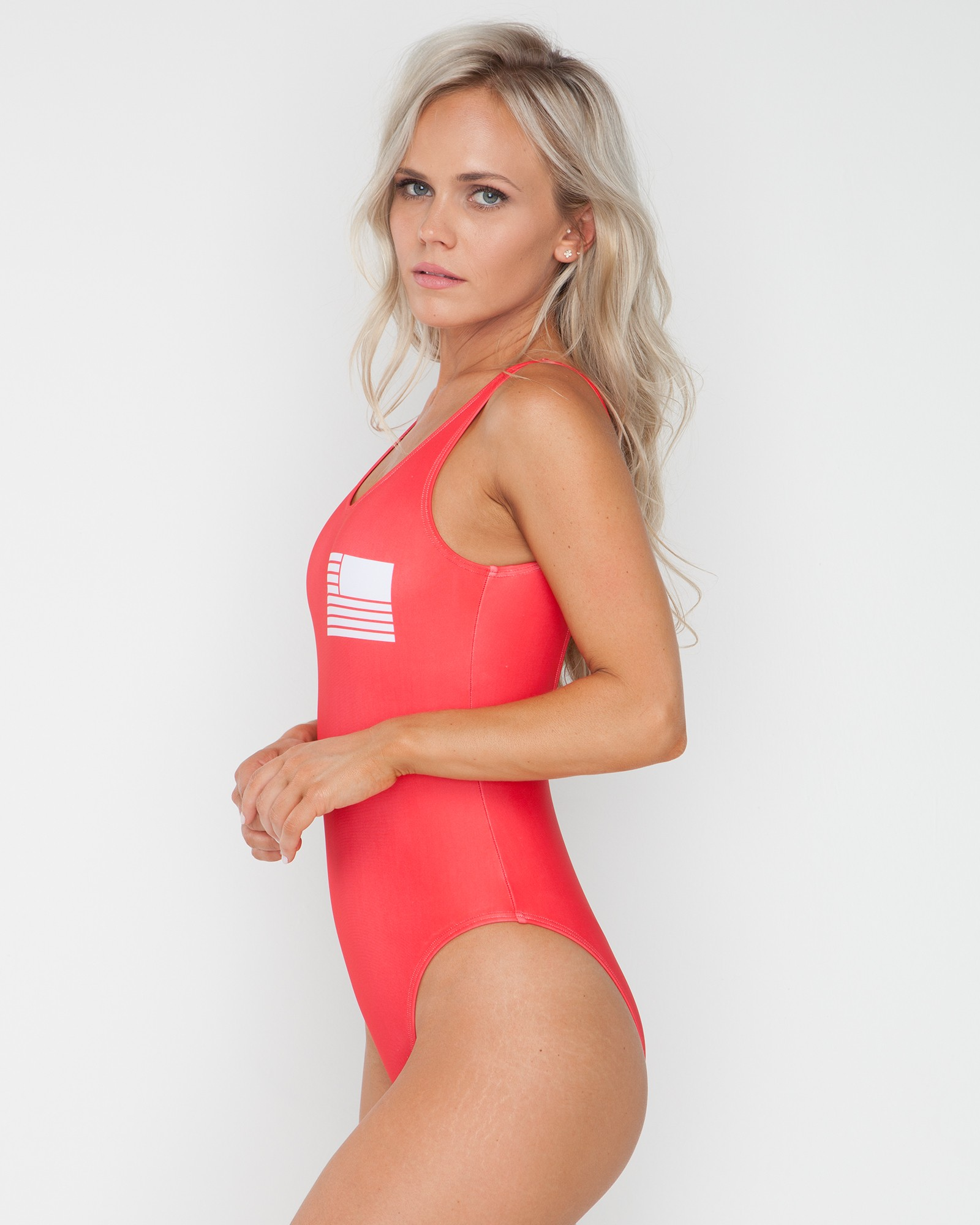 BAYWATCH RED SWIMSUIT